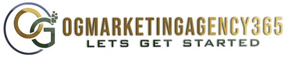logo ogmarketingagency365 lets get started